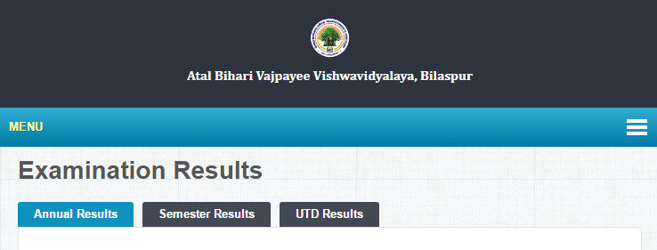 Bilaspur University BSc 2nd Year Result 2019