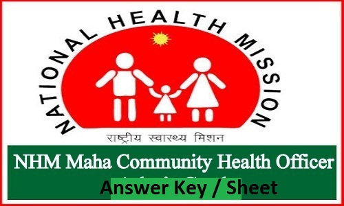 NHM Maharashtra CHO Answer Key 2019