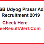 RSMSSB Udyog Prasar Adhikari Recruitment 2019 rsmssb.rajasthan.gov.in Vacancy Notification Application Form