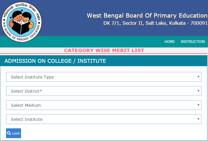 West Bengal DElEd Merit List 2019 Download