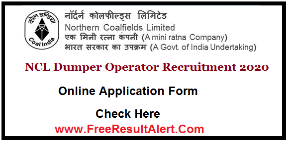 Dumper Operator Upcoming Recruitment